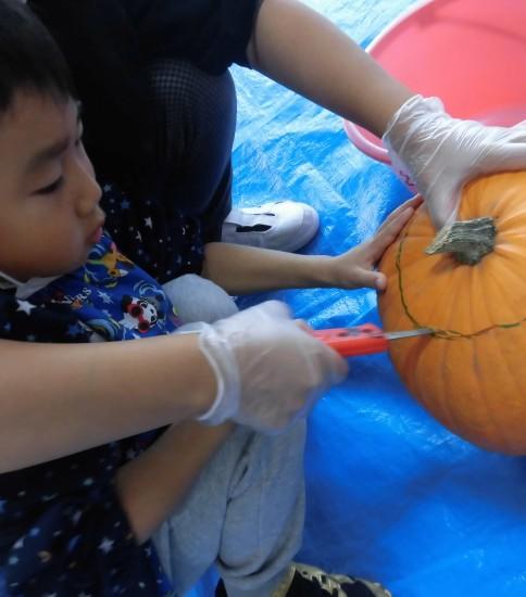 ハロウィンかぼちゃに焼き芋におにぎりそしていわみちゃん☆