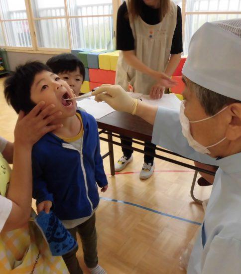 歯科検診&一斉保育を行いました(^^)/