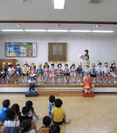 7月生まれのお誕生会がありました(*^^*)