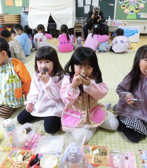 焼き芋パーティー 【年中】