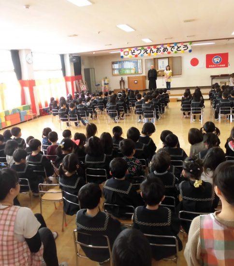 卒園式総練習でした!!