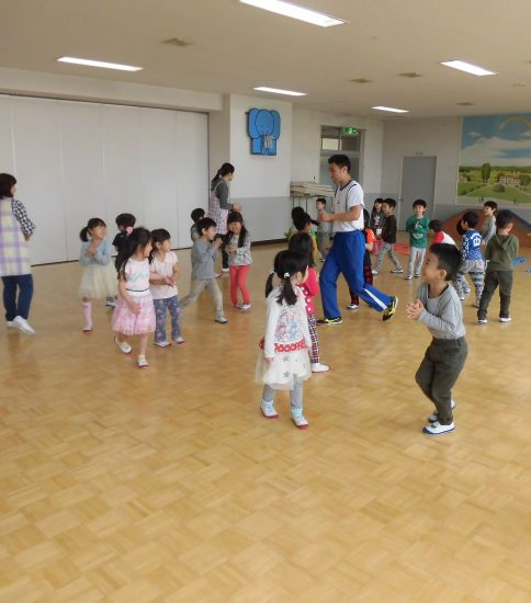年長二回目の英会話・体操教室(^o^)丿