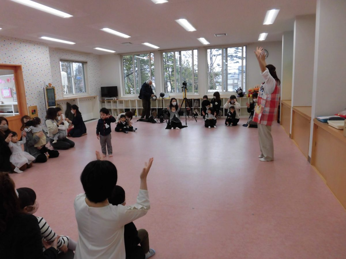 つぼみ組入会式でした(*^▽^*)