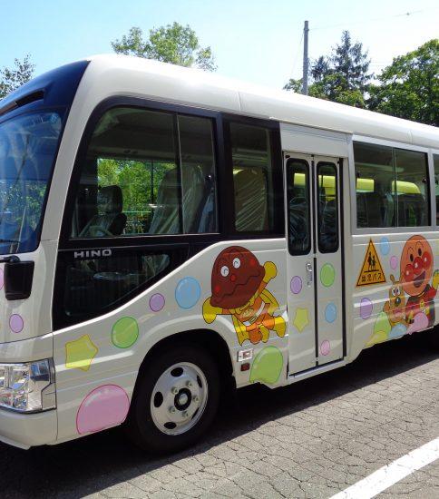 新しいバスが来たよ!(^^)!